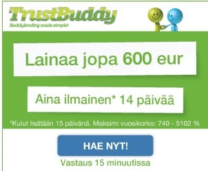 TrustBuddy kulutusluotto